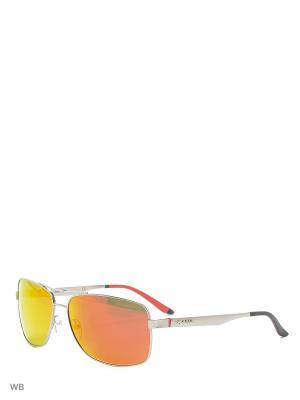 Солнцезащитные очки CARRERA 8014S 11. Цвет: серебристый