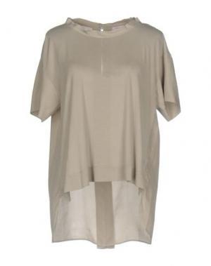 Блузка ROSSOPURO. Цвет: серый