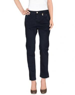 Повседневные брюки ROŸ ROGER'S CHOICE. Цвет: темно-синий