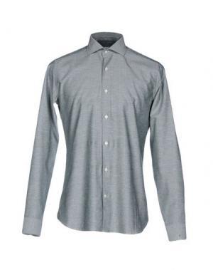 Pубашка CALIBAN. Цвет: серый