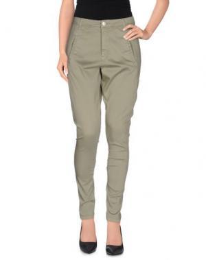 Повседневные брюки FIVEUNITS. Цвет: зеленый-милитари