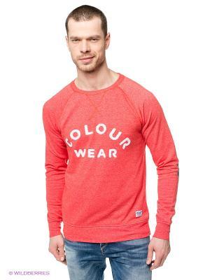 Джемпер CLWR. Цвет: красный