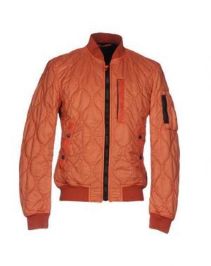 Куртка SPIEWAK. Цвет: ржаво-коричневый