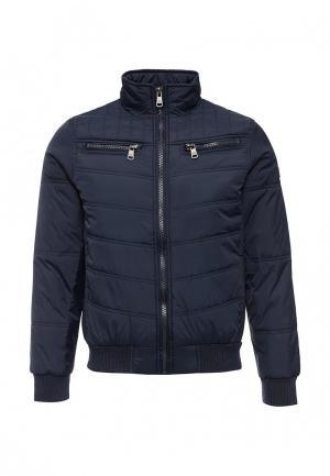Куртка утепленная Hopenlife. Цвет: синий