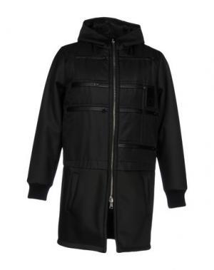 Пальто LETASCA. Цвет: черный