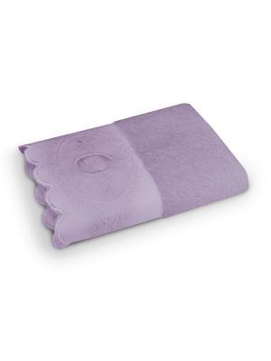 Полотенце COZY HOME. Цвет: лиловый
