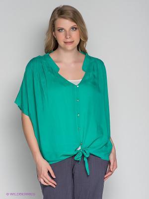 Блузка ARDATEX. Цвет: темно-зеленый