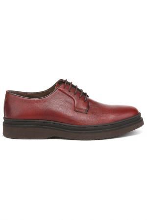 Туфли DERI&MOD. Цвет: сливовый