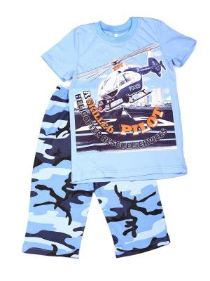 Пижамы Flip. Цвет: голубой