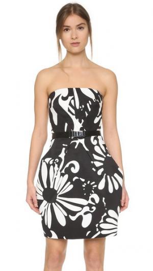 Платье без бретелек KAUFMANFRANCO. Цвет: насыщенно-черный/сияющий белый