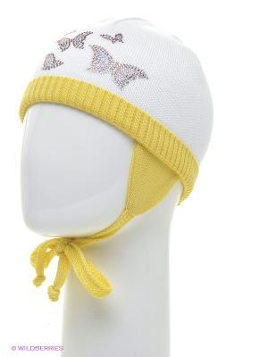Шапка Totti. Цвет: белый, светло-желтый