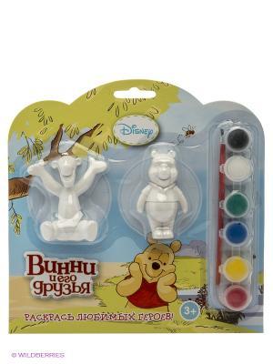 Набор-раскраска Disney Играем вместе. Цвет: голубой, желтый, белый