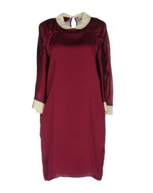 Короткое платье GOLD CASE. Цвет: пурпурный