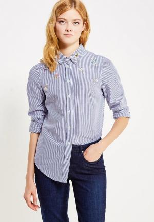 Рубашка Naf. Цвет: голубой