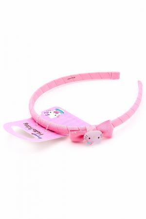 Ободок Hello Kitty. Цвет: розовый