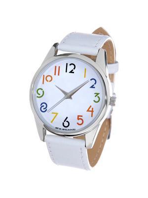 Часы Mitya Veselkov. Цвет: красный, желтый, синий