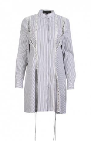 Платье-туника Thakoon. Цвет: серый