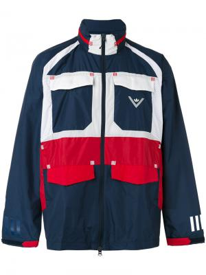 Ветровка Field Adidas By White Mountaineering. Цвет: синий