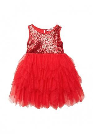 Платье Modis. Цвет: красный