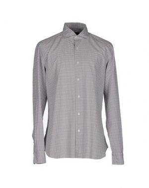 Pубашка DANDYLIFE by BARBA. Цвет: светло-коричневый