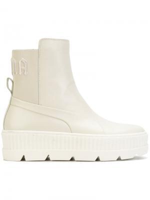 Ботинки челси Fenty x Puma. Цвет: телесный