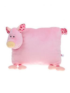 Мягкая игрушка Сестричка Хрюшка 17.66.1-1 цвет розовый Malvina. Цвет: розовый