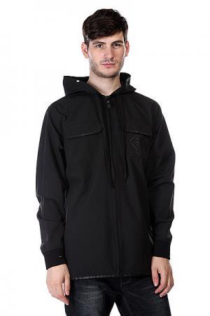 Куртка  3ls Fullzip True Black Analog. Цвет: черный