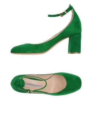 Туфли ROBERTO FESTA. Цвет: зеленый