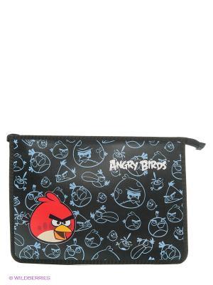 Папка для тетрадей на молнии Angry Birds Centrum. Цвет: черный