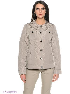 Куртка Finn Flare. Цвет: серо-коричневый