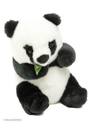 Панда, 25см Hansa. Цвет: черный, белый