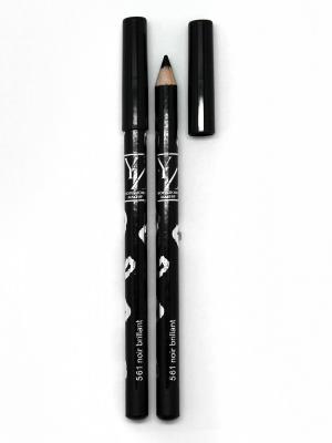 Контурный карандаш для век водостойкий ИЛЛОЗУР. Цвет: черный