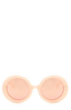 Солнцезащитные очки Matthew Williamson. Цвет: светло-розовый