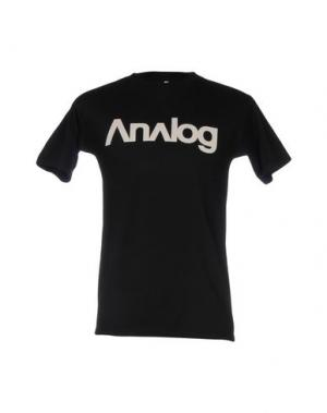 Футболка ANALOG. Цвет: черный