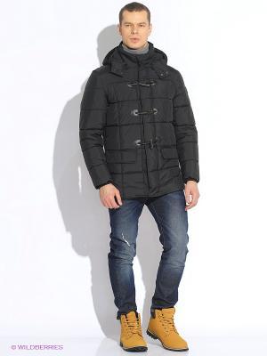 Куртка WPM. Цвет: черный