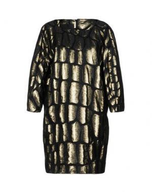 Короткое платье JAY AHR. Цвет: платиновый