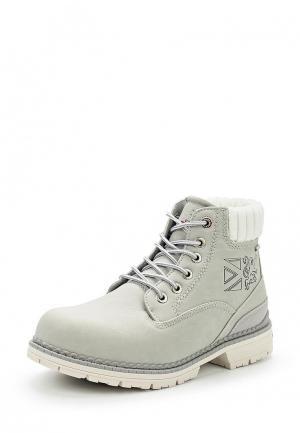 Ботинки Crosby. Цвет: серый