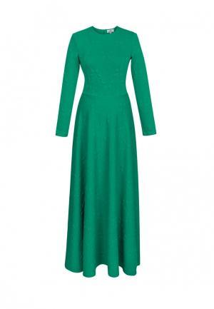 Платье Bella Kareema. Цвет: зеленый