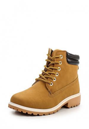 Ботинки Ideal. Цвет: коричневый