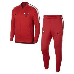 Мужской спортивный костюм НБА Chicago Bulls  Dry Nike. Цвет: красный