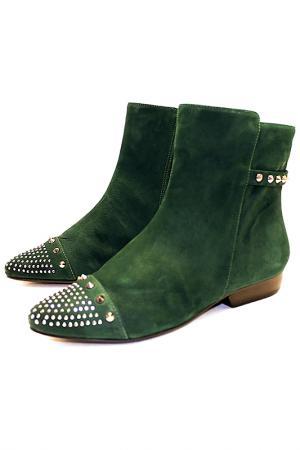 Ботинки Capriccio. Цвет: темно-зеленый, изумрудный