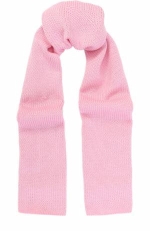 Шерстяной шарф Catya. Цвет: розовый