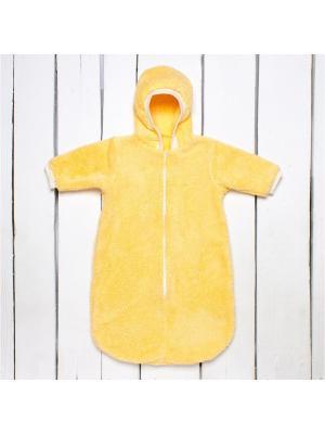 Комбинезон-мешок Утенок. Цвет: желтый