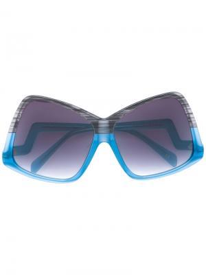 Солнцезащитные очки Stardust Sama Eyewear. Цвет: синий