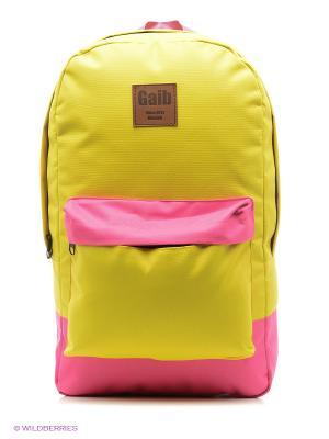 Рюкзак Gaib. Цвет: желтый