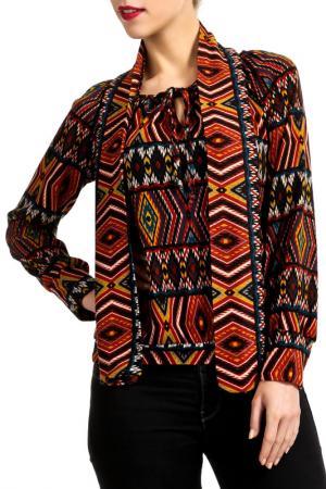 Блузка Isaco & Kawa. Цвет: мультицвет