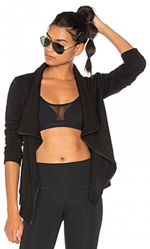 Куртка на молнии soothe Vimmia. Цвет: черный
