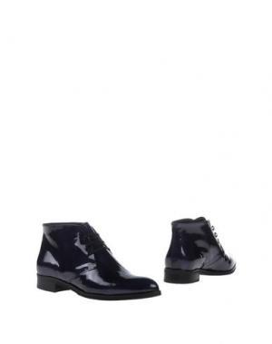 Полусапоги и высокие ботинки ZINDA. Цвет: темно-синий