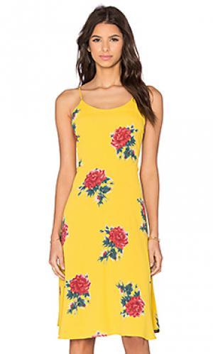 Платье shore Privacy Please. Цвет: желтый