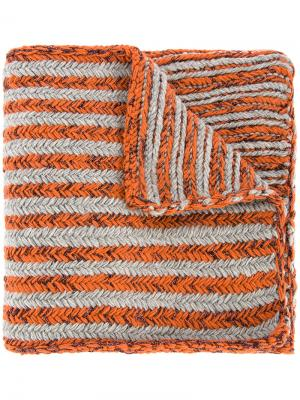 Nikolai Tussey scarf 711. Цвет: жёлтый и оранжевый